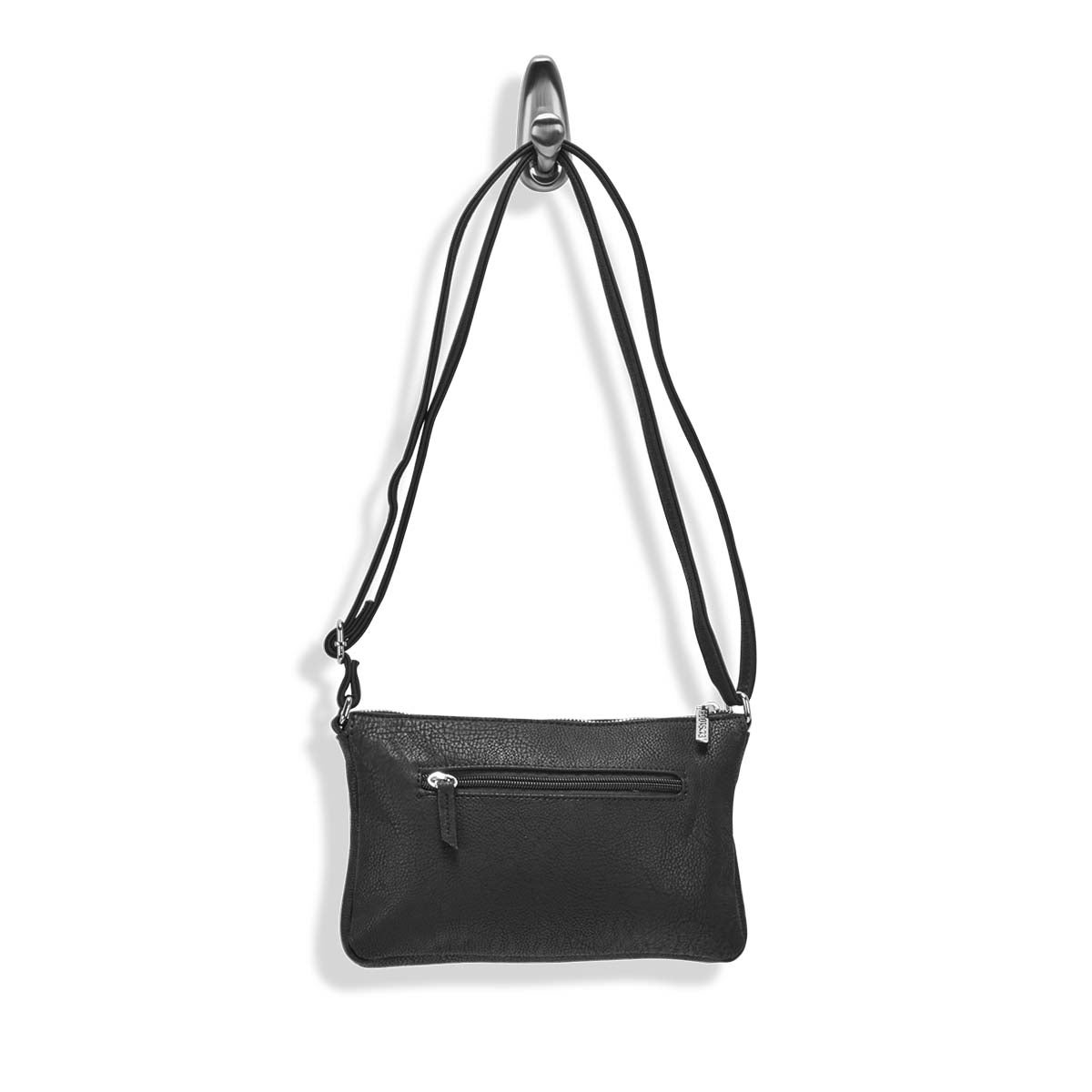 Lds Roots73 black east/west crossbody
