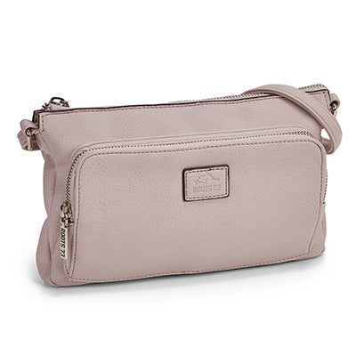 Lds Roots73 blush east/west crossbody