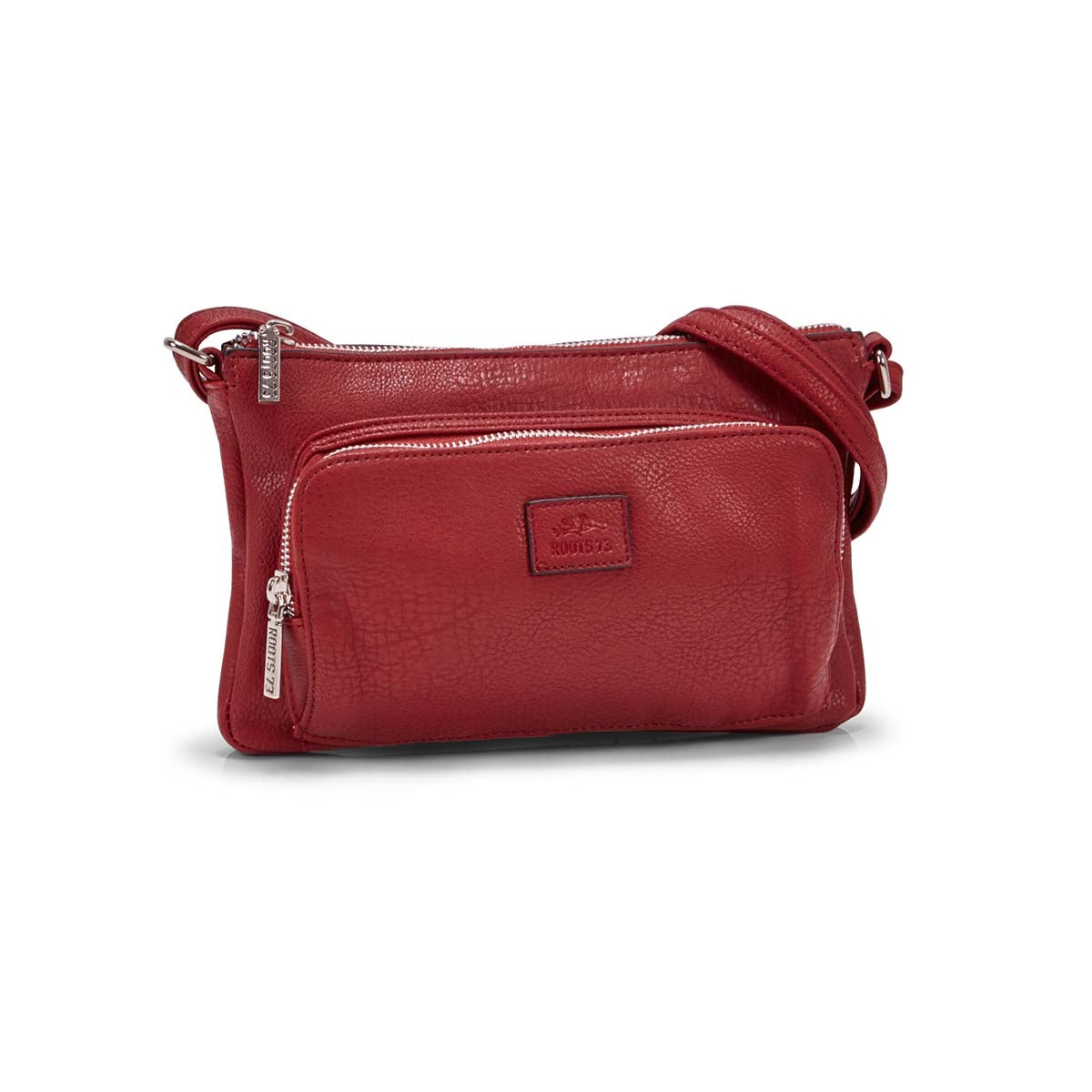 Women's  R4886 dark red cross body bag