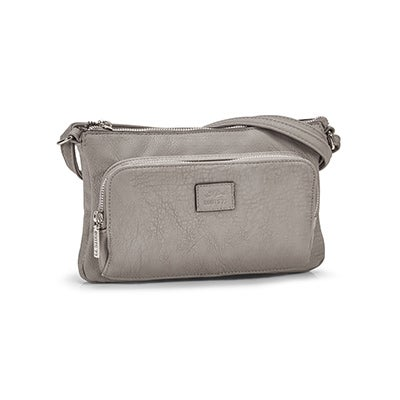 Roots Women's  R4886 grey cross body bag