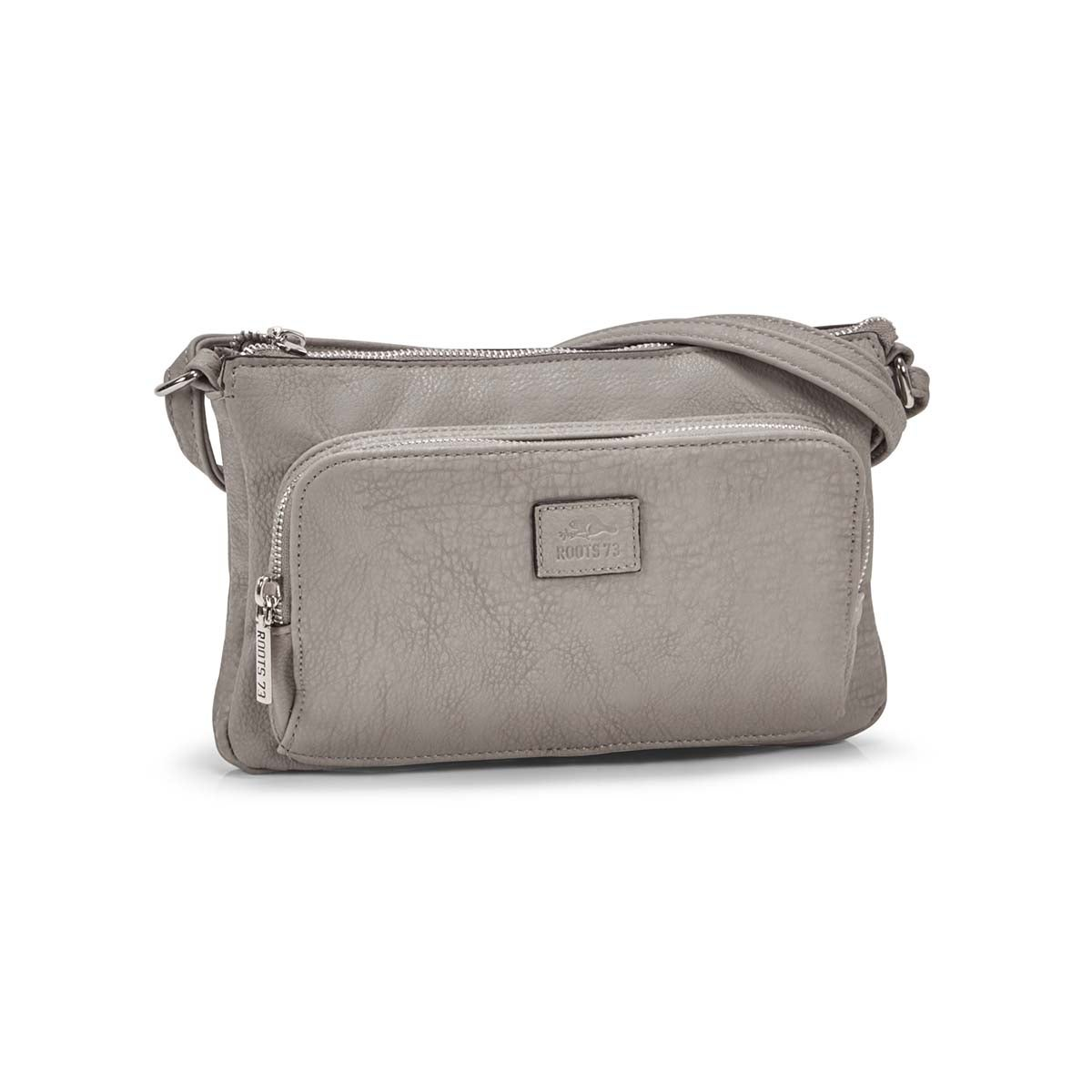Women's  R4886 grey cross body bag
