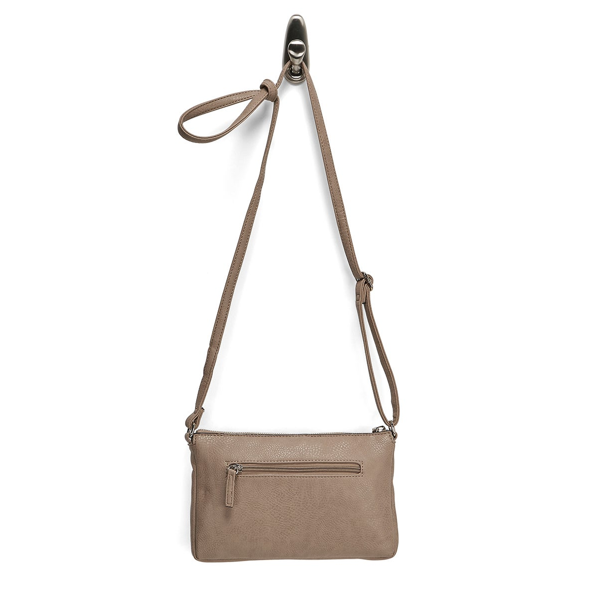 Lds Roots73 taupe east/west crossbody