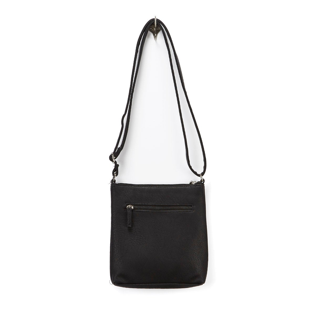 Lds Roots73 blk north south cross body