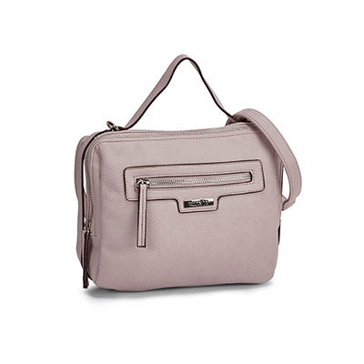 Roots Women's R4908 dusty rose side belt crossbody