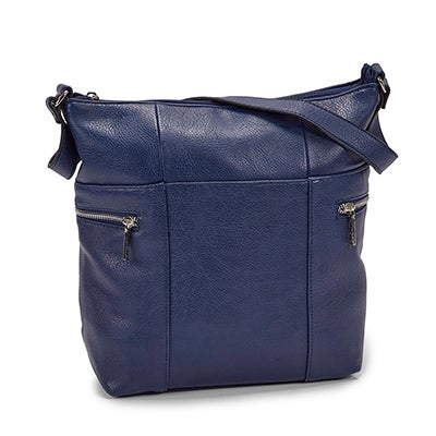 Roots Women's R4910  navy north/south hobo bag