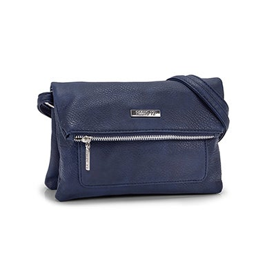 Roots Women`s R5050 blue EAST/WEST crossbody bag