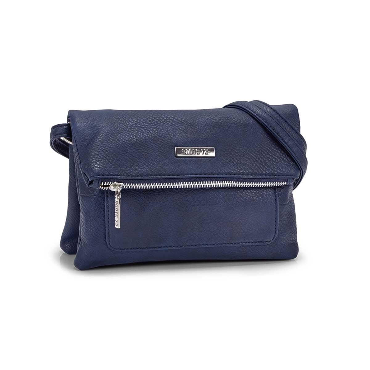 Women`s R5050 blue EAST/WEST crossbody bag