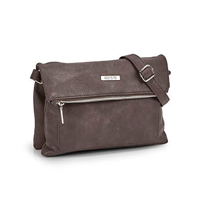 Roots Women's ROOTS73 R5051 grey crossbody bag
