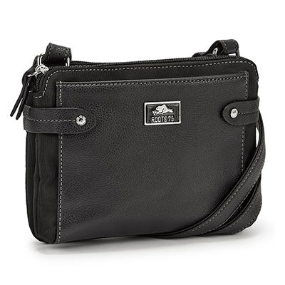 Roots Women's R5058 black crossbody bag