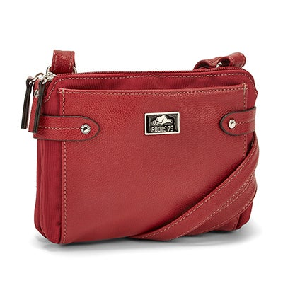 Roots Women's R5058 red crossbody bag