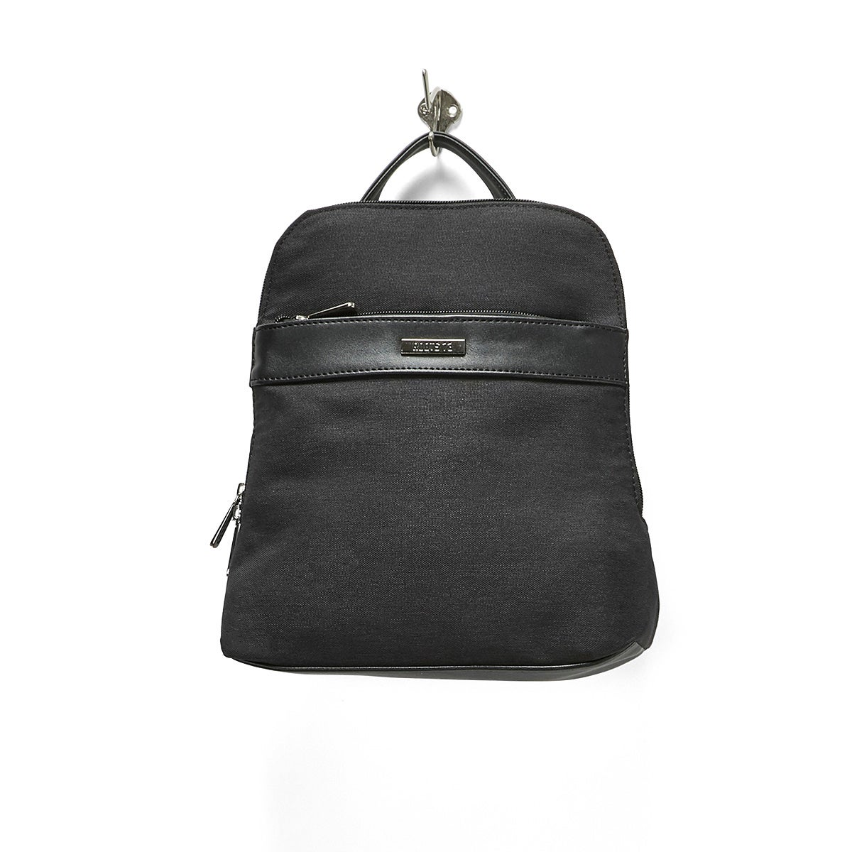 LdsRoots73 black center band backpack