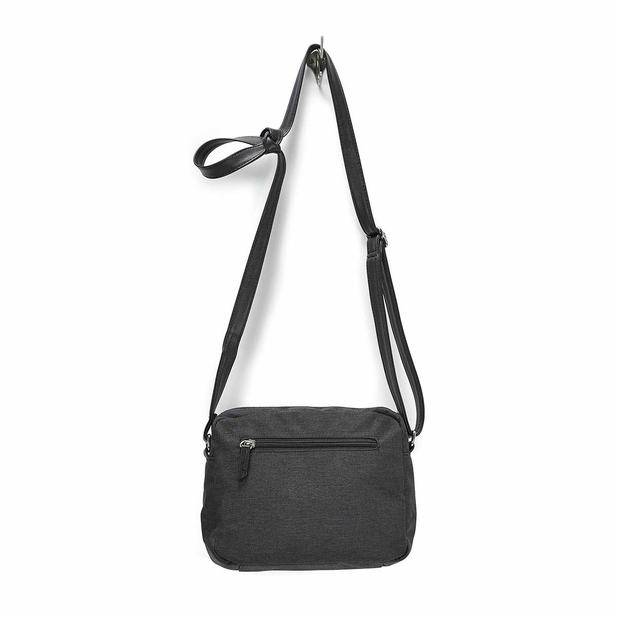 LdsRoots73 black rounded top crossbody
