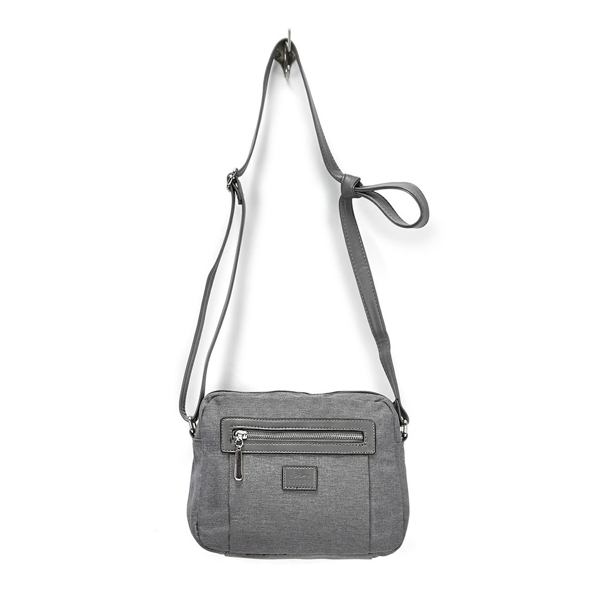 LdsRoots73 grey rounded top crossbody