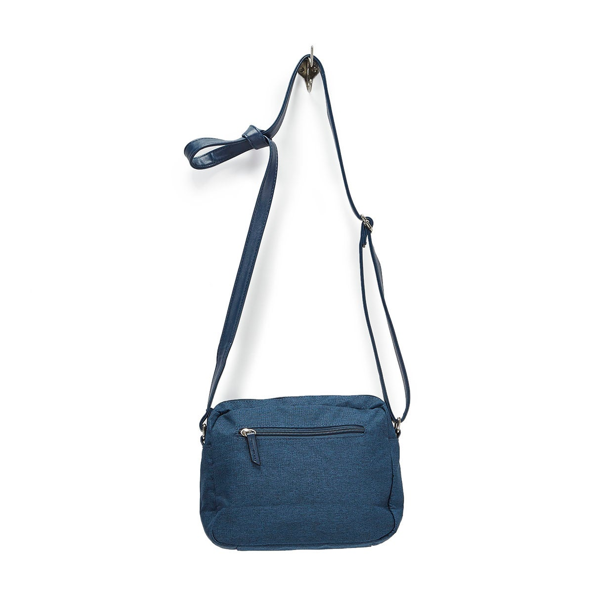 LdsRoots73 navy rounded top crossbody