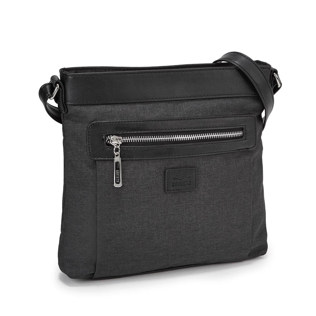 LdsRoots73 black north south cross body