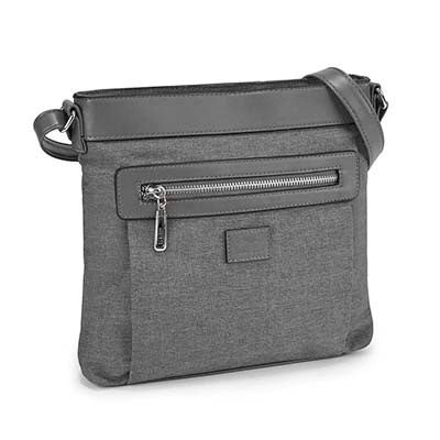 Roots Women's R5117 Roots73 grey north south cross body