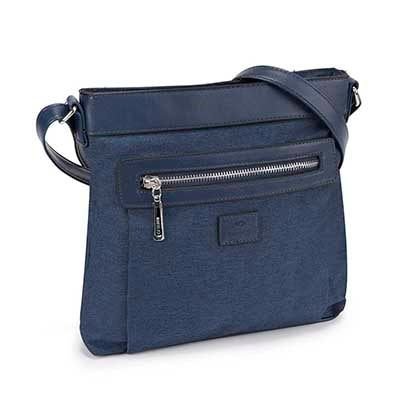 Roots Women's R5117 Roots73 navy north south cross body