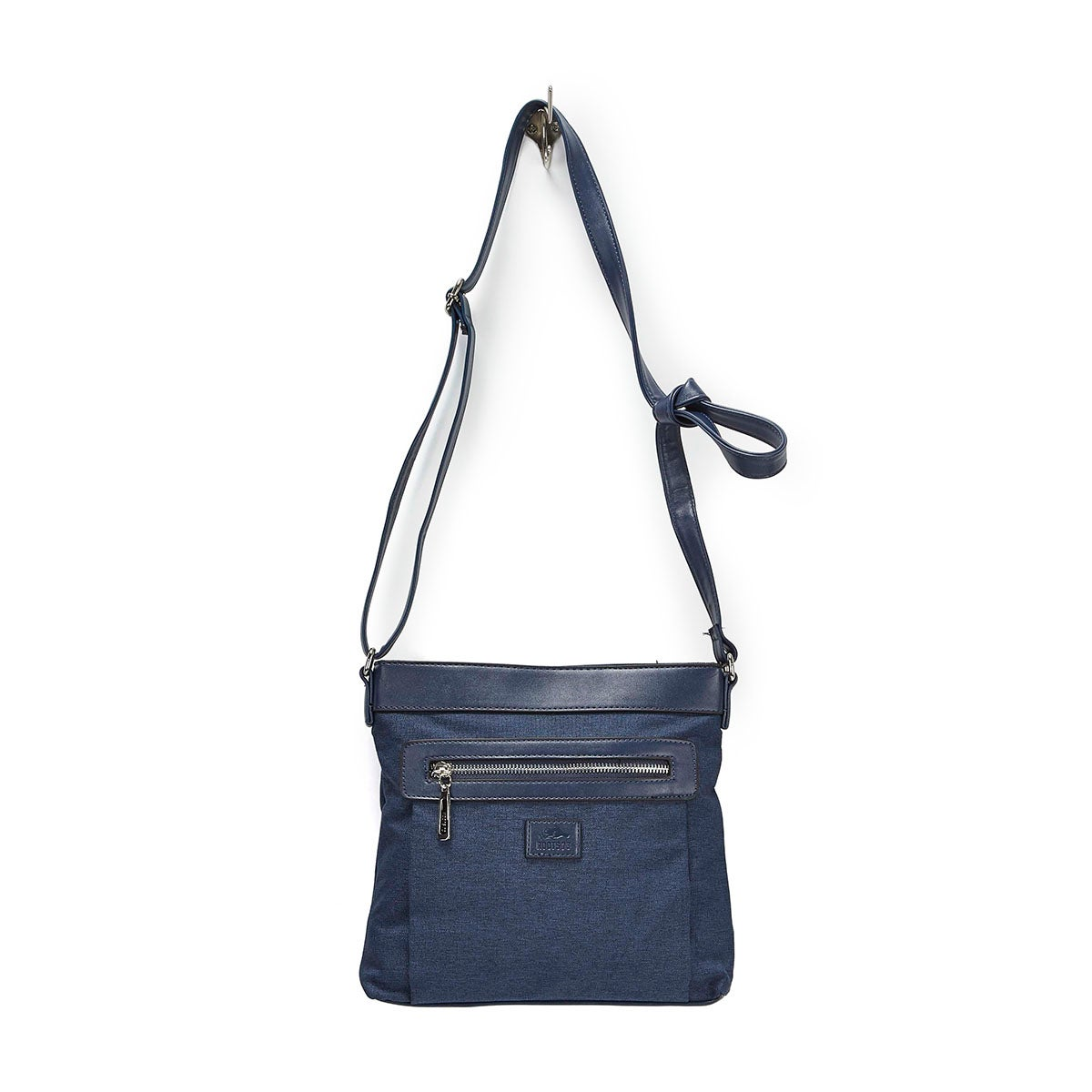 LdsRoots73 navy north south cross body