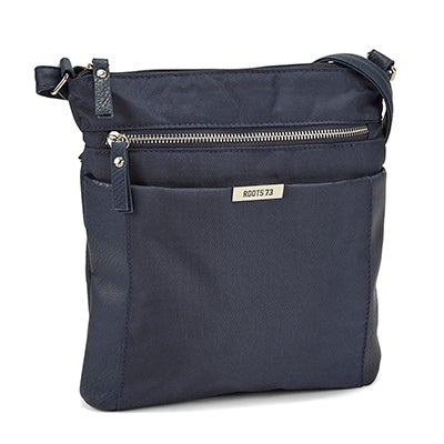 Roots Women's R5134 navy north south crossbady bag