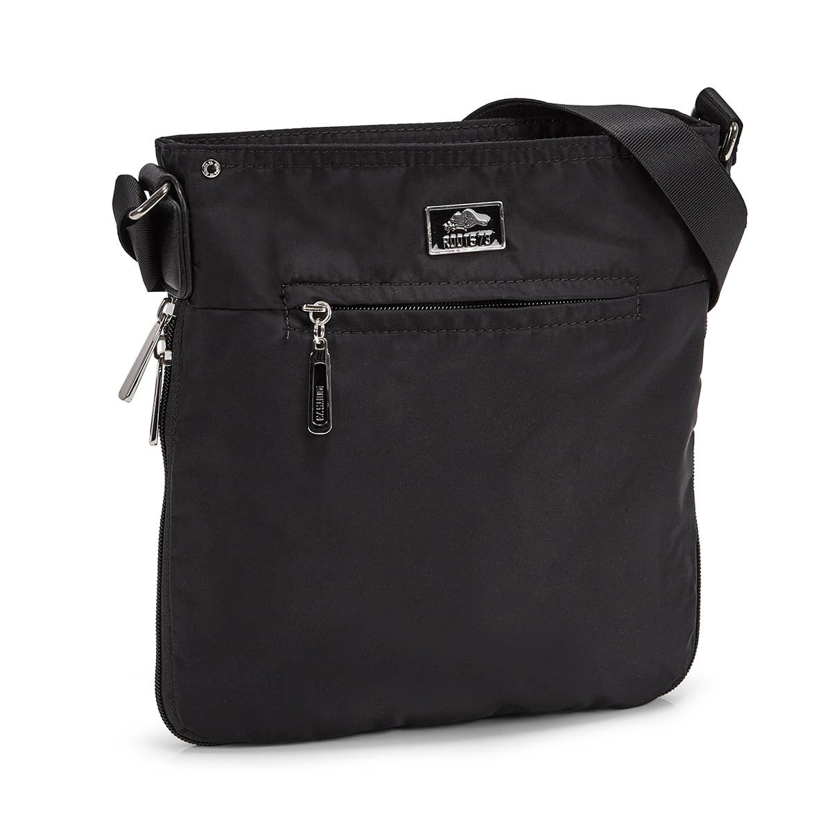 Women's R5136  black north/south cross body bag