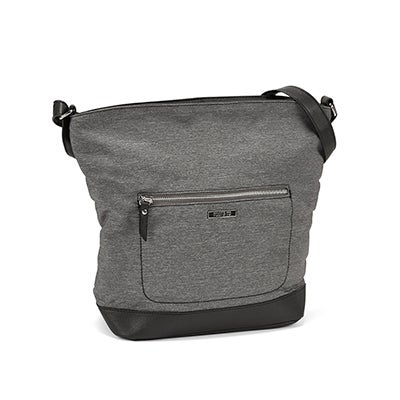 Roots Women`s R5159 grey large hobo bag