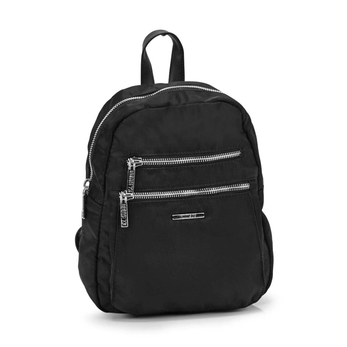 Women's R5191 black mini backpack