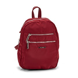 Roots Women's R5191 red mini backpack