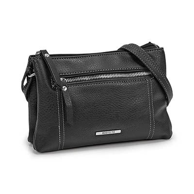 Roots Women's R5196 black mini cross body bag