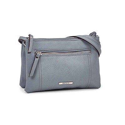 Roots Women's R5193 light blue mini cross body bag