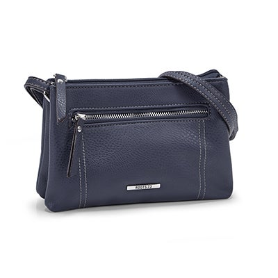 Roots Women's R5193 navy mini cross body bag