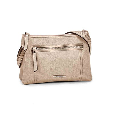 Roots Women's R5193 stone mini cross body bag
