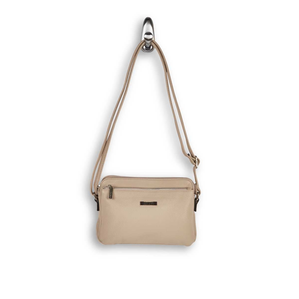 Lds stone east/west small crossbody bag