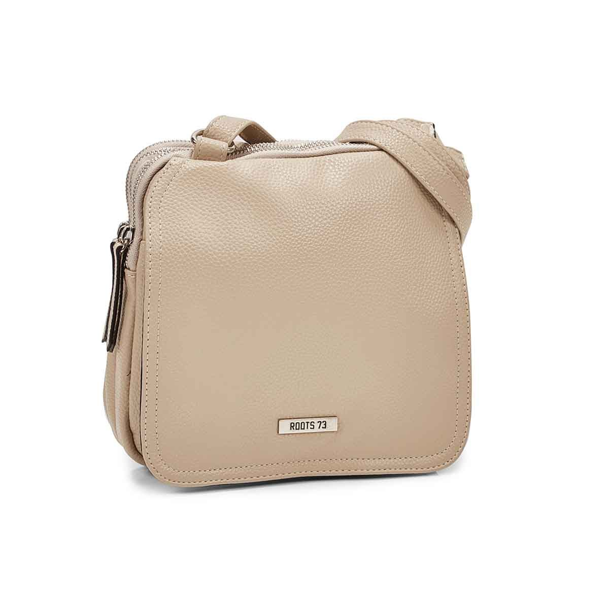 Women's R5201 beige crossbody bag