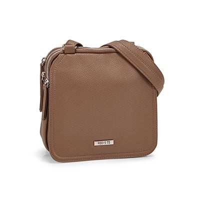 Roots Women's R5201 taupe crossbody bag
