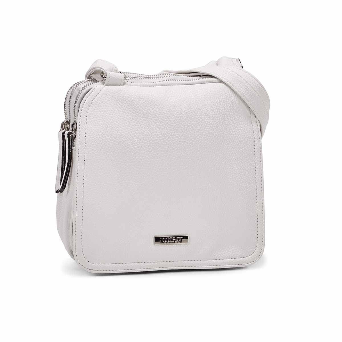 Women's R5201 white crossbody bag