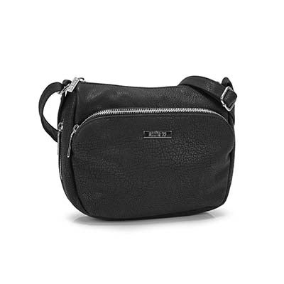 Roots Women's R5209 black crossbody bag