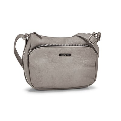 Roots Women's R5209 grey crossbody bag