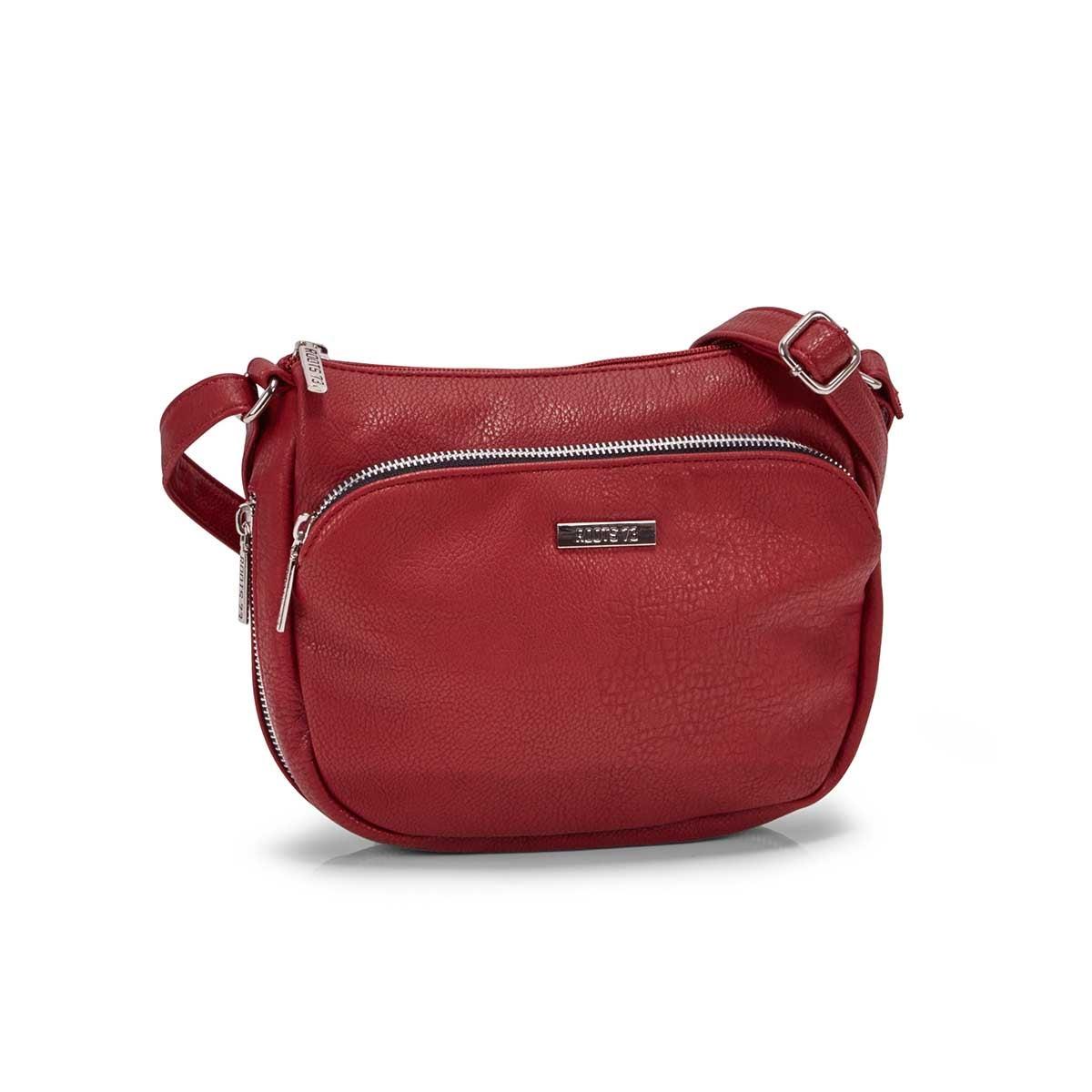 Women's R5209 red crossbody bag