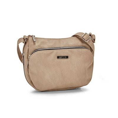 Roots Women's R5209 taupe crossbody bag