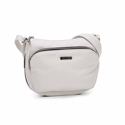 Roots Women's R5209 white crossbody bag