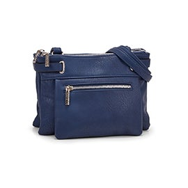 Roots Women's R5218 navy crossbody bag