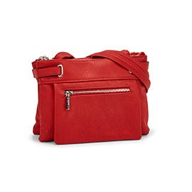 Roots Women's R5218 red crossbody bag