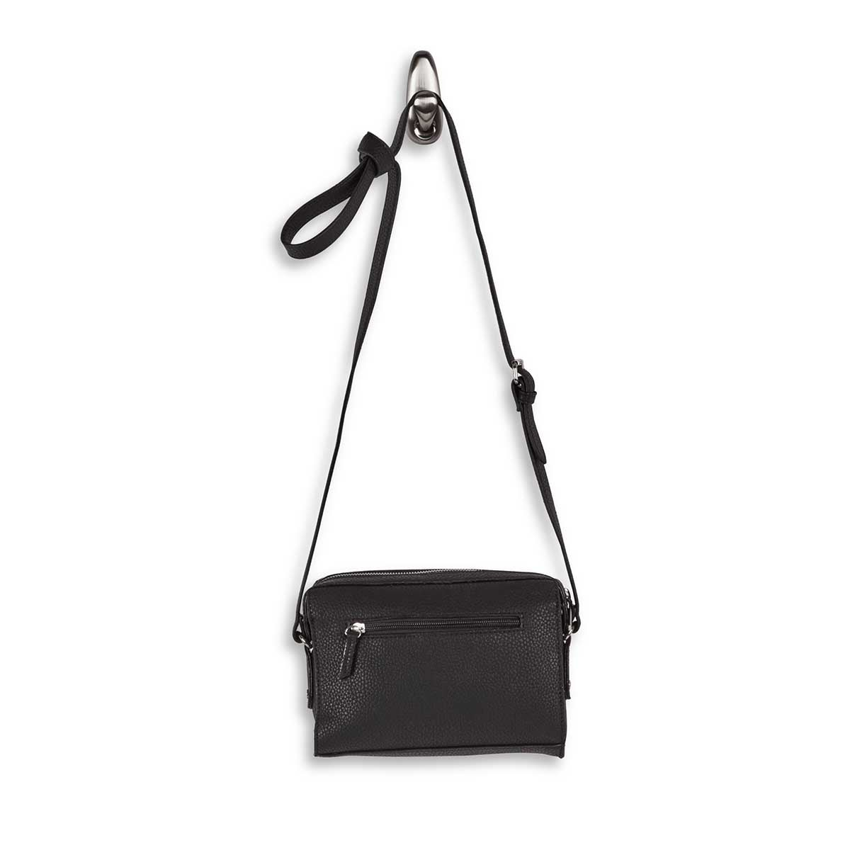 Lds Roots73 black rectangular crossbody