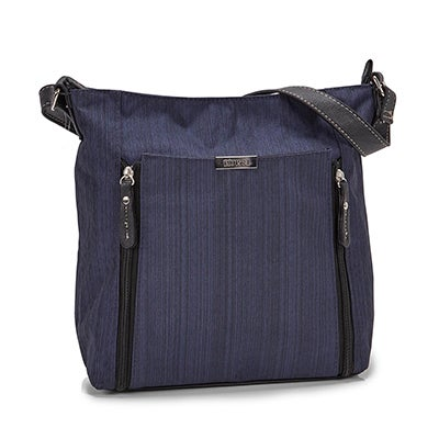Roots Women's R5239 navy  crossbody