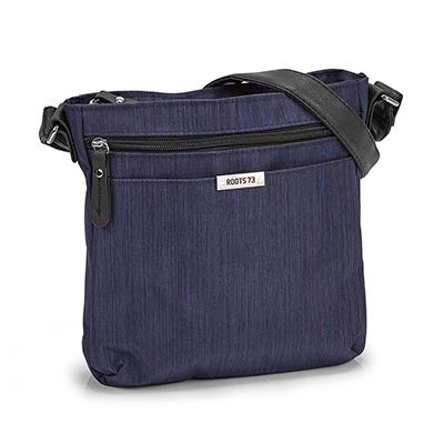 Roots Women's R5240 navy cross body bag