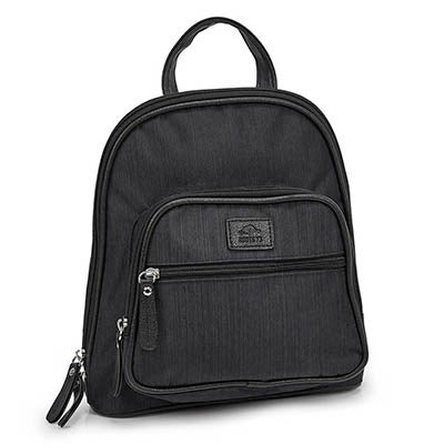 Roots Women's R5241 black mini backpack bag