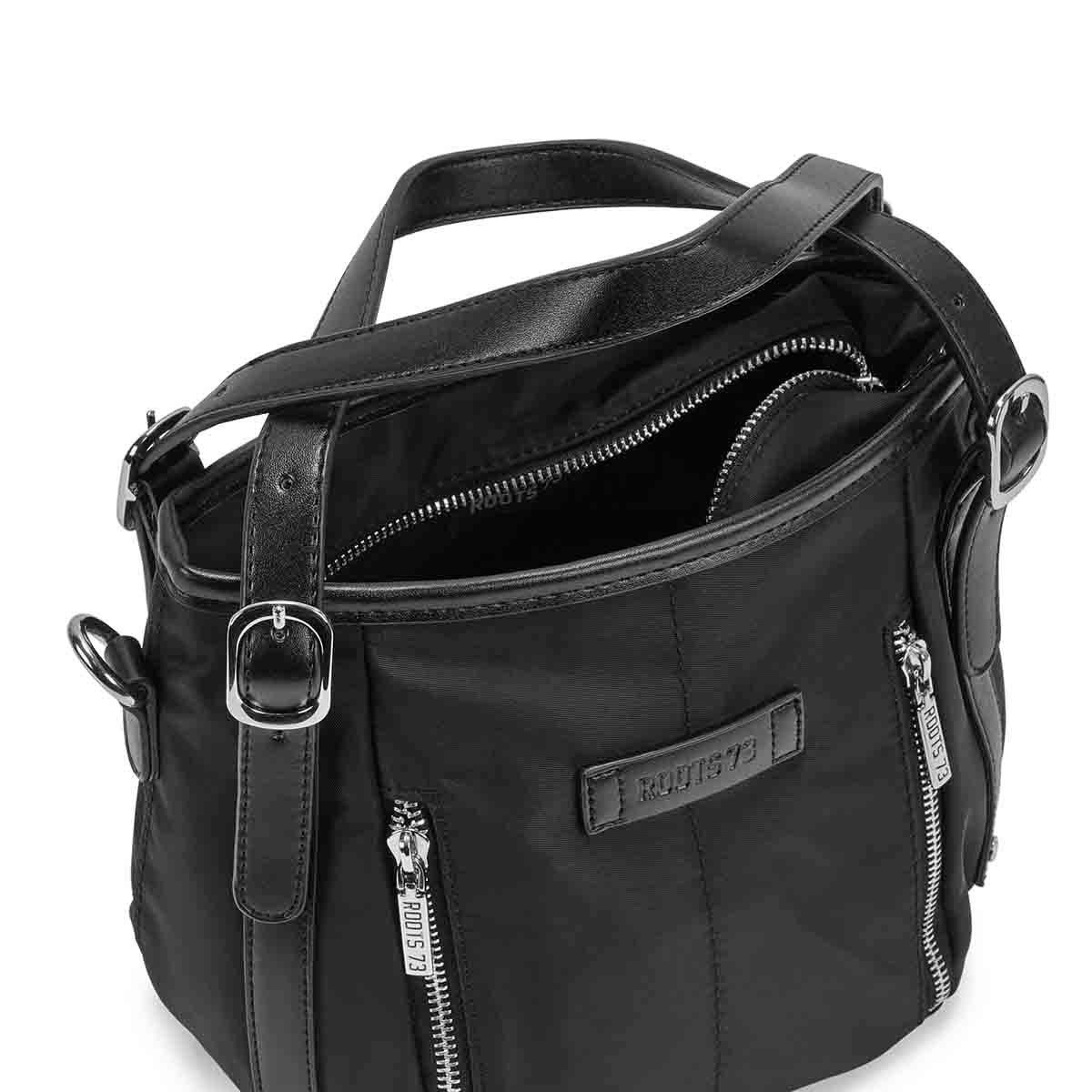 Lds Roots73 black small satchel