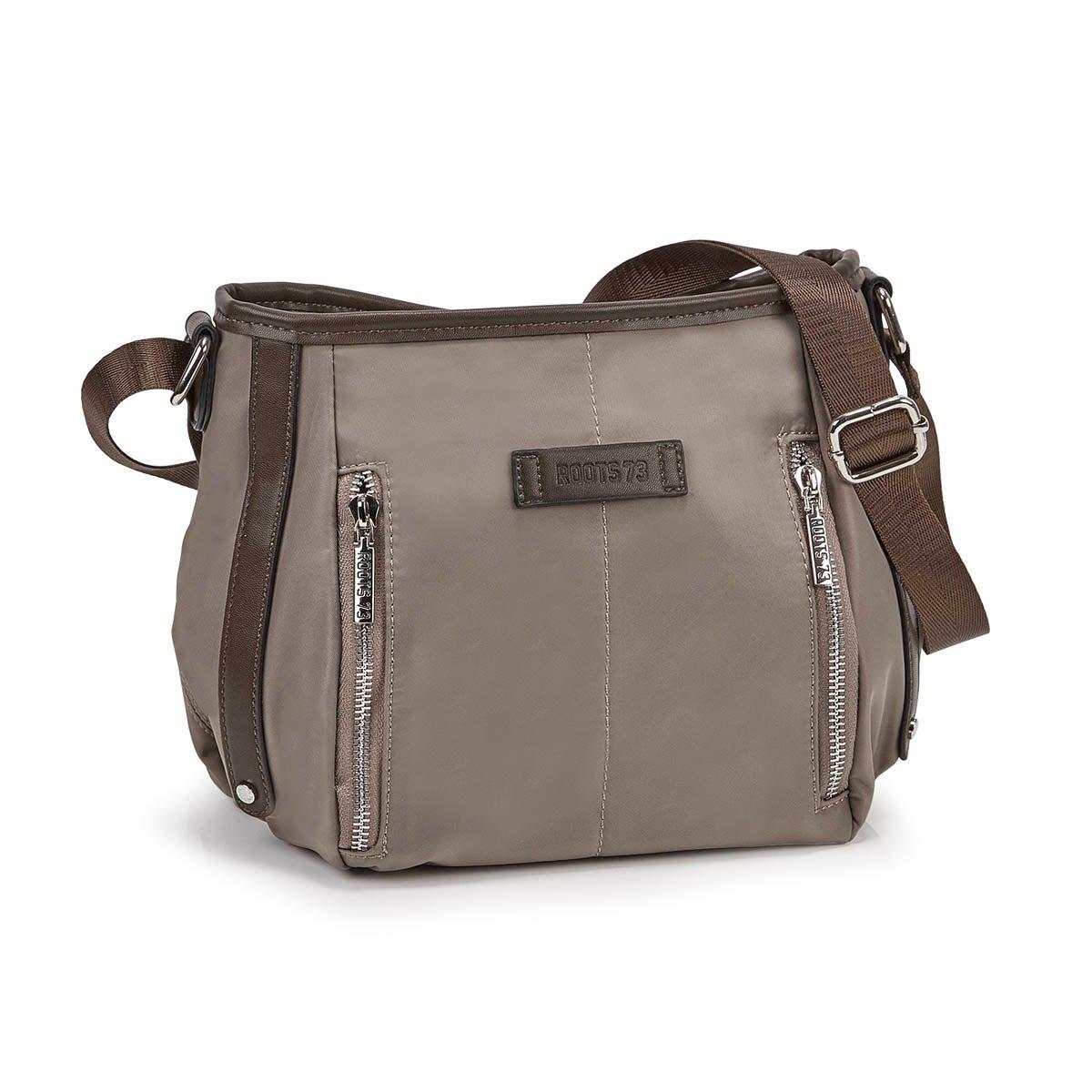 Women's R5299 EAST/WEST khaki hobo bag