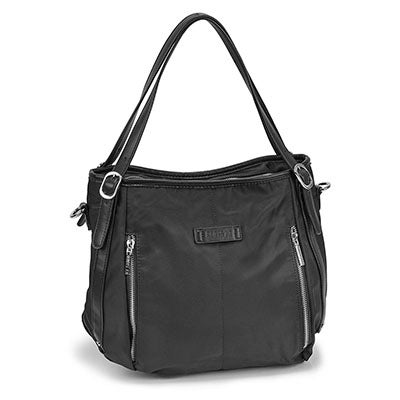 Roots Women's R5300 black tote bag