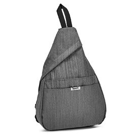 Roots Women's R5316 grey sling bag